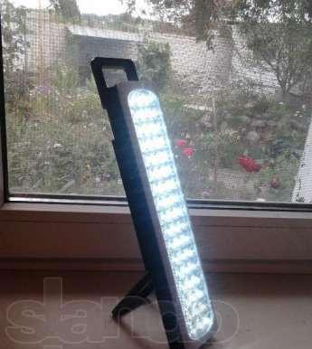 Светильник автономный 51 LED: YJ-6819. Полноценное освещение комнаты до 20 м.кв.