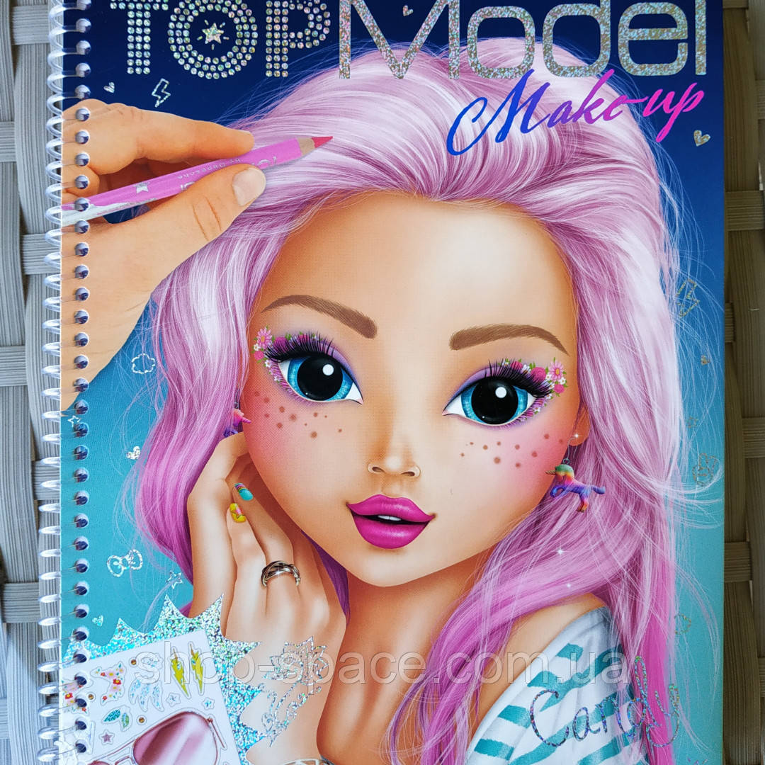 Альбом для творчества TOP Model Make Up (045419)