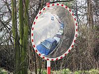 """Дорожное зеркало """"SATEL"""" со светоотражателями D-900mm"""