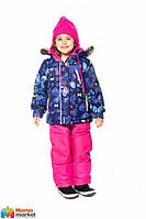 Комплект зимний для девочки Deux par Deux B801, цвет 687. Коллекция 2019
