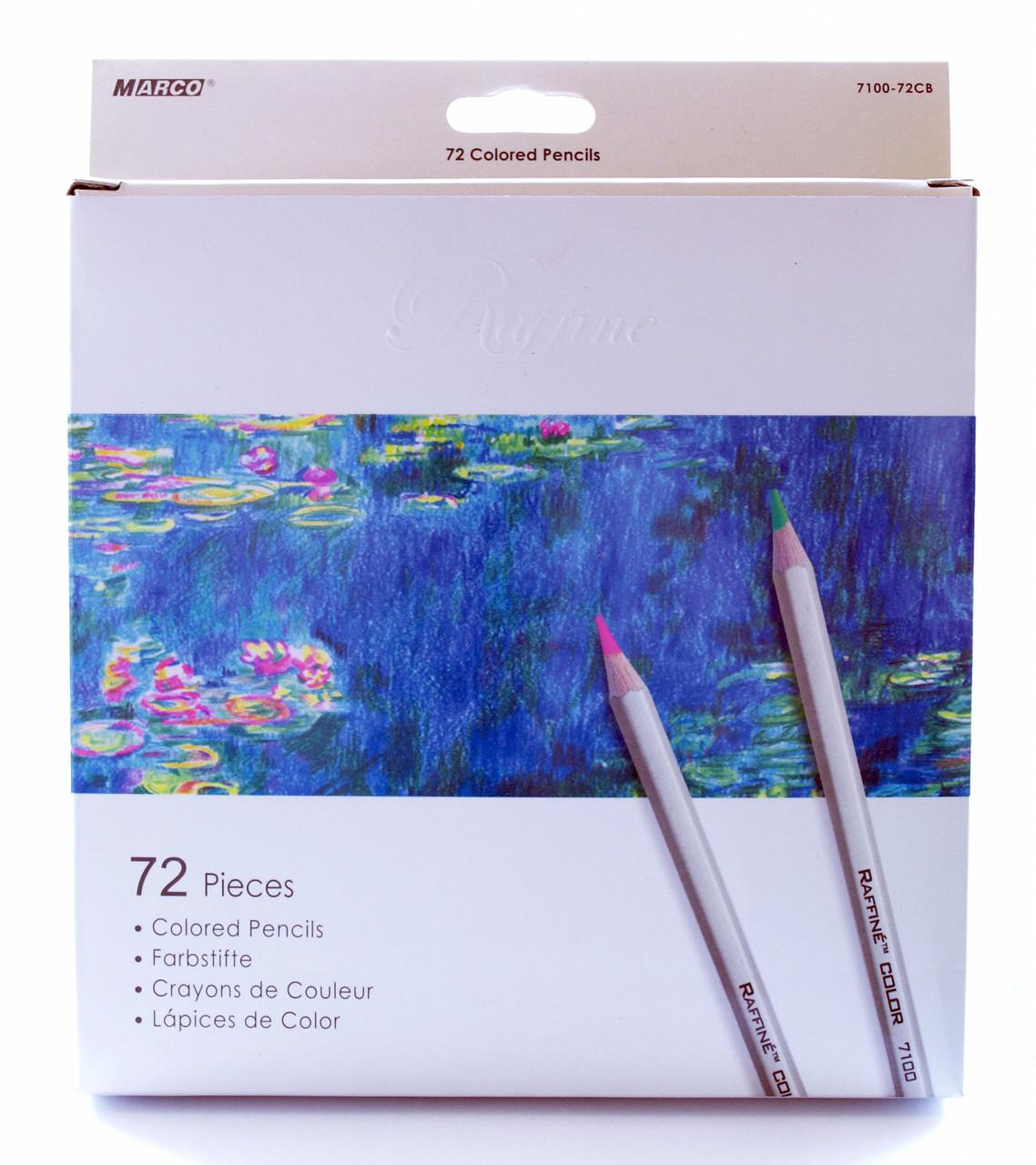 Олівці кольорові Marco Raffine 72 кольору 7100-72CB Пром-ціна