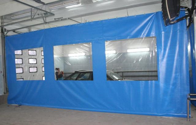 Прозрачные шторы для автомоек
