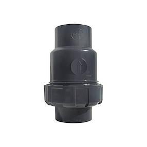 Обратный клапан шаровый ПВХ Aquaviva, диаметр 250 мм., фото 2