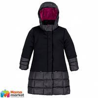 Зимнее пальто для девочки Deux par Deux PW59-E, цвет 999