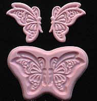 Силиконовый молд кружевная бабочка