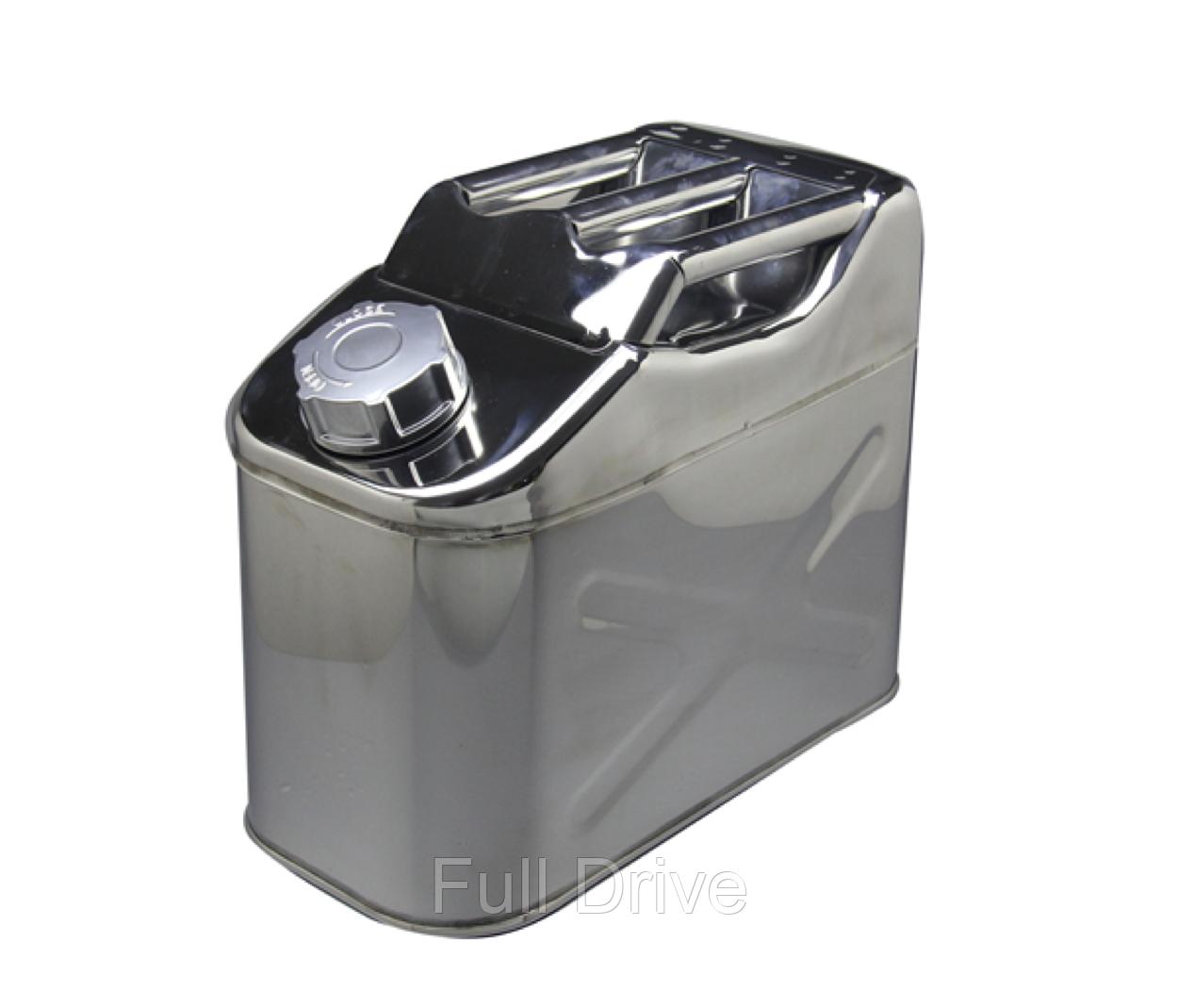 Канистра металлическая для топлива 10литров