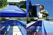 Автотент на зерновоз ПВХ брезент, пошив и ремонт