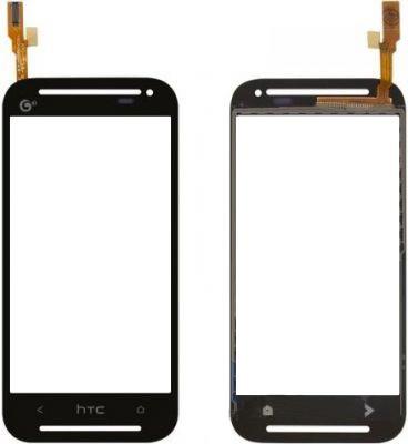 Сенсорный экран (тачскрин) HTC Desire 608t чёрный ориг. к-во