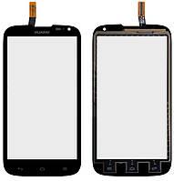 Сенсорный экран (тачскрин) Huawei Ascend G610-U20 чёрный ориг. к-во