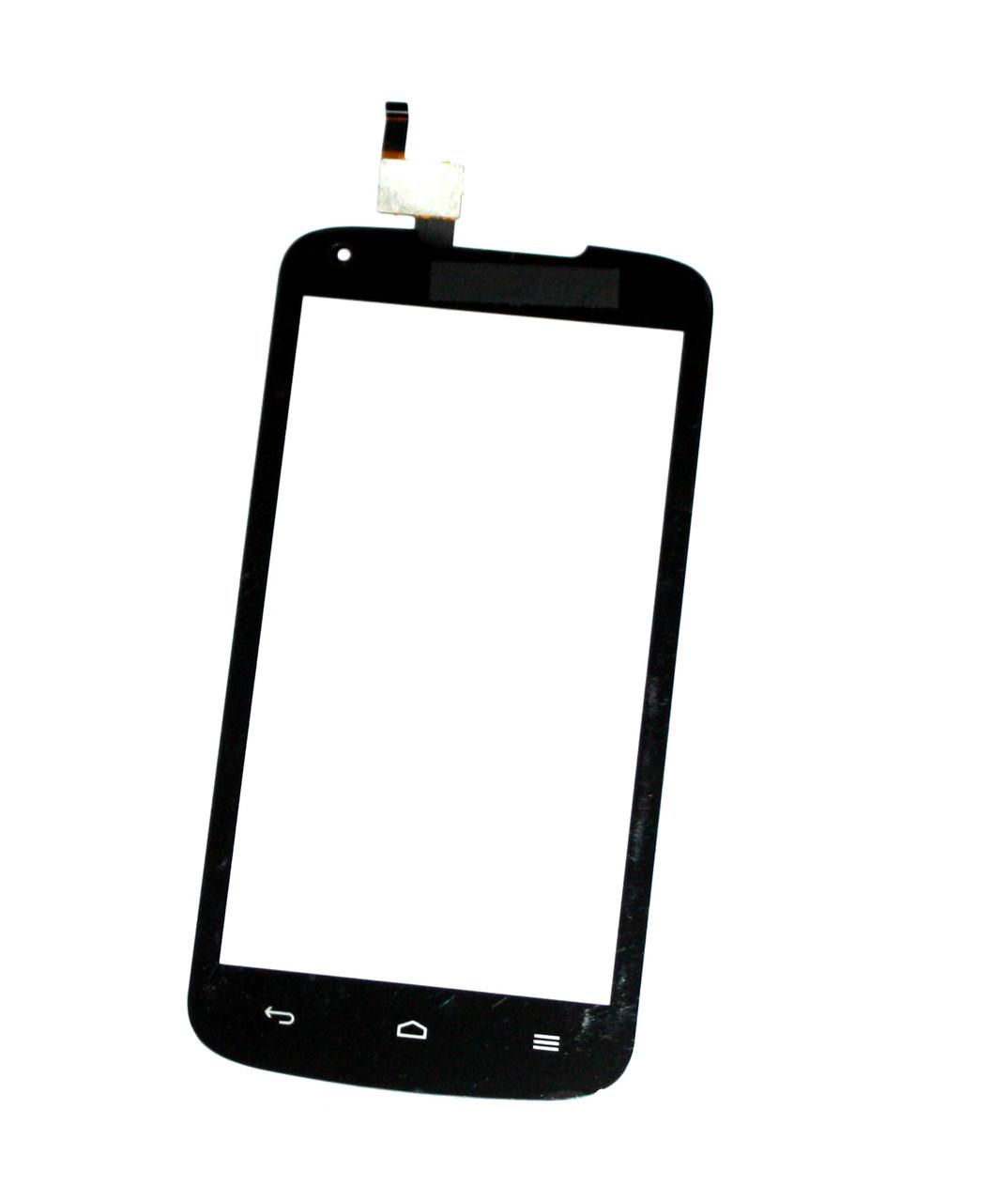 Сенсорный экран (тачскрин) Huawei Ascend Y520 чёрный ориг. к-во