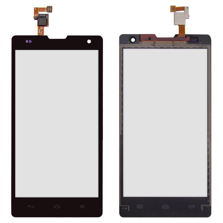 Сенсорный экран (тачскрин) Huawei Honor 3C H30-U10 чёрный