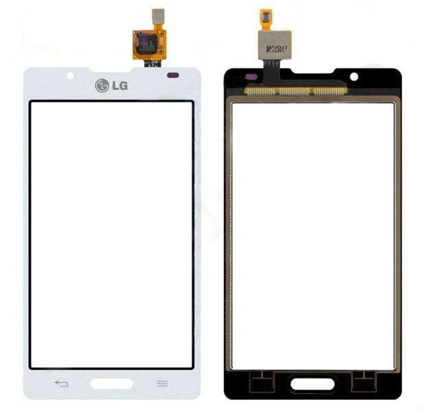 Сенсорный экран (тачскрин) LG P713 Optimus L7 II | P710 white orig