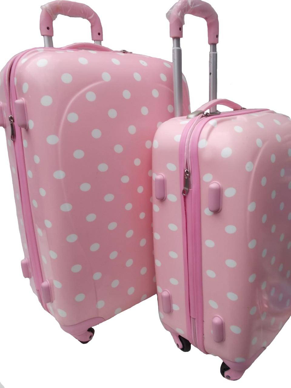 Чемоданы в горошек пакуй чемоданы онлайн