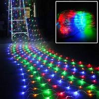 Светодиодная гирлянда сетка 240 LED 3х0,8 м