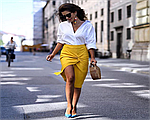 Модный желтый