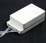 Гирлянда-сетка светодиодная, цвет синий 1.2*1.5 м., новогодняя гирлянда на 120 LED , фото 5