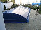 Тентовое покрытия (накрытие) для бассейна ПВХ, фото 4