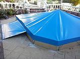 Тентовое покрытия (накрытие) для бассейна ПВХ, фото 5