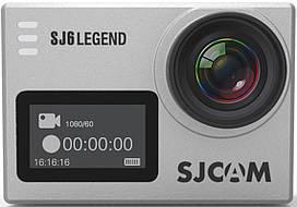 Экшн-камера SJCAM SJ6 LEGEND Silver #I/S