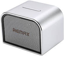 Портативная акустика Remax RB-M8 Mini Desktop Speaker Silver #I/S