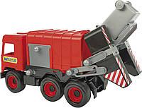 """Авто """"Middle truck"""" сміттєвоз (червоний) в коробці (39488)"""