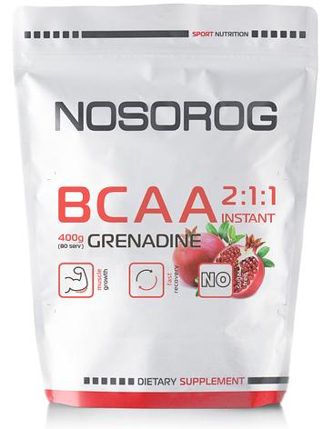 NOSOROG Nutrition ВСАА 2:1:1 400 g, фото 2