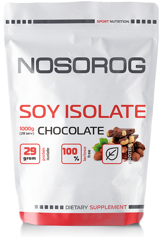 NOSORIG Nutrition Soy Protein Isolate 1 kg, фото 2