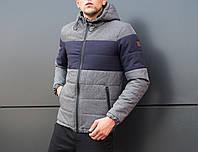 "Мужская куртка Jacket ""Zatoka "" Gray-Navy"
