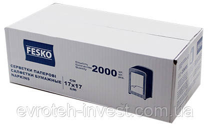 Fesko Салфетки столовые L-укладка 2000 шт.