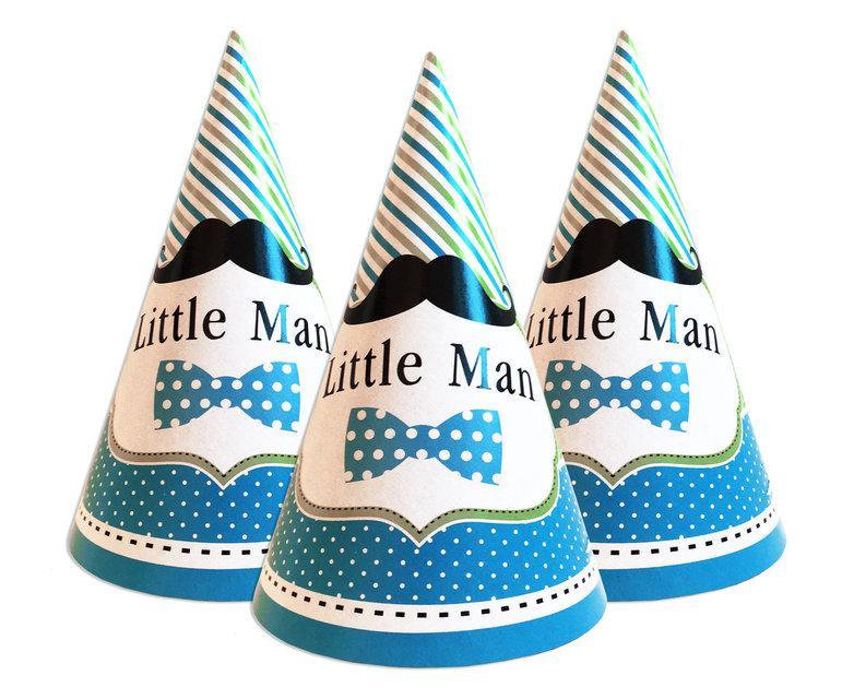 """Ковпаки святкові, маленькі """"Little Man"""""""
