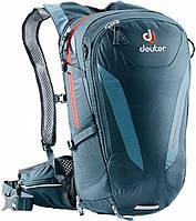 Рюкзак велосипедный DEUTER Compact EXP, 32003153386, 16 л, темно зеленый