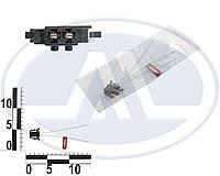 Роз'єм датчика заднього ходу ВАЗ 1117-19 гніздовий 2 контактний з проводами (пр-во Cargen)