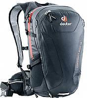 Рюкзак велосипедный DEUTER Compact EXP, 32003157000, 16 л, черный