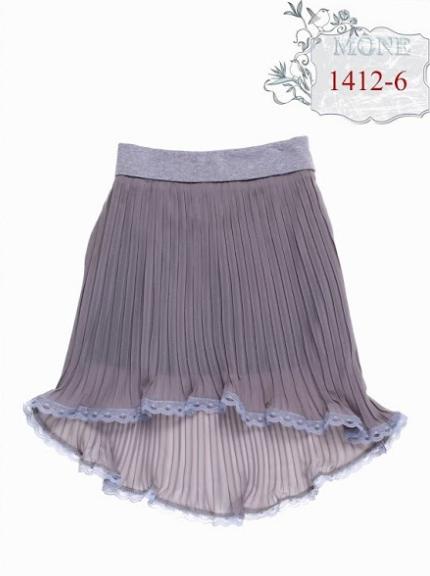 Модная школьная юбка (серая) р-ры 122,128,134,140,146,152