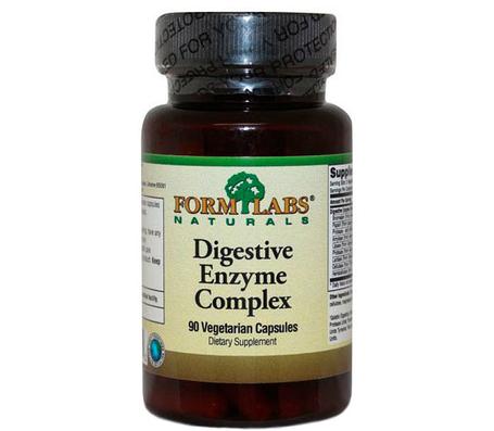 Для пищеварения Naturals Enzyme Complex Form Labs 90 caps, фото 2