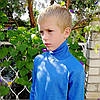 Гольф (водолазка) для мальчика синий, Турция