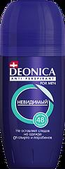 Deonica FOR MEN НЕВИДИМЫЙ Роликовый Антиперспирант 50 мл.