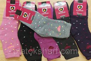 Зимние женские махровые носки оптом