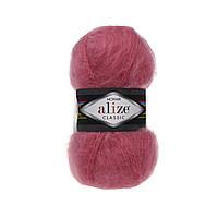 Alize Mohair classik - 170 темно розовый