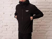 Мужская куртка Soft Shell Jacket All Black