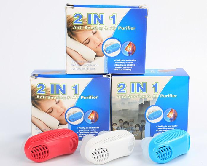 Антихрап устройство от храпа anti snoring & air purifier 2 в 1