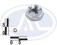 Гайка М14х1,5 тяги кермової трапеції ВАЗ 2101-07 корончатая (пр-во БелЗАН)