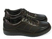 Темно-коричневый спортивные туфли на шнурках, фото 1