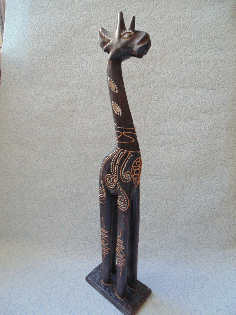 Статуэтка деревянная Жираф  40 см