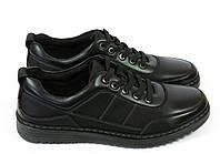 Черные спортивные туфли на шнурках, фото 1