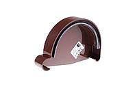 Заглушка ринви Profil права Р 130 коричнева