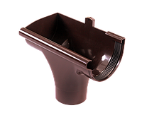 Лійка Profil ліва L 90 коричнева