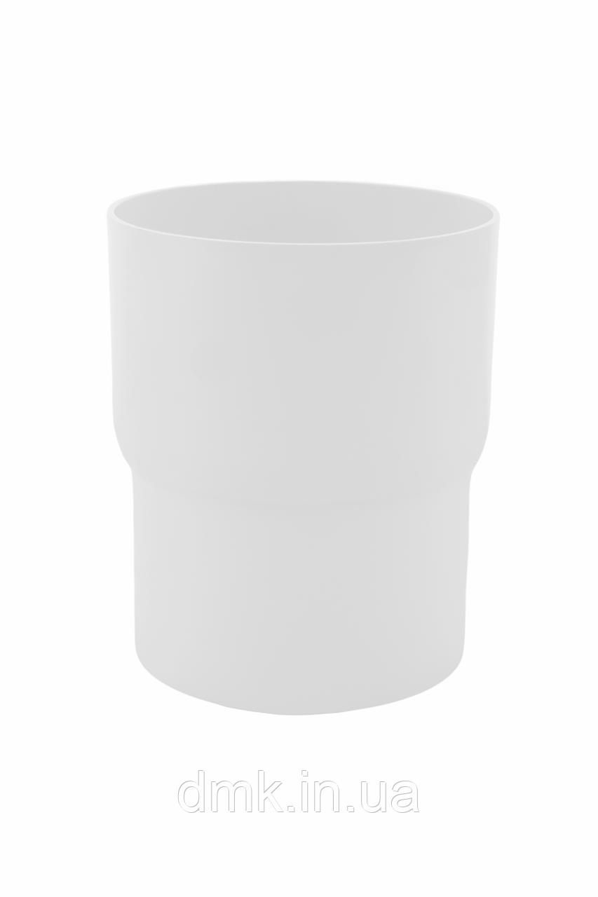 З`єднувач труби Profil 90 білий