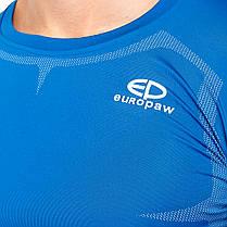 Футболка компрессионная Europaw ls top синяя, фото 2