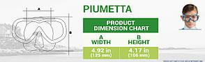 CRESSI Маска PIUMETTA CLEAR, фото 3